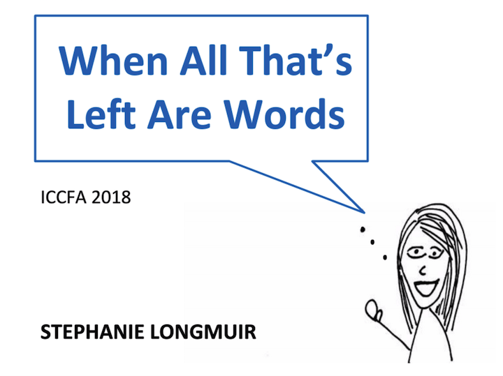 When All That's Left Are Words
